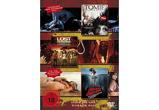 Ultimate Asia Horror Box (Tomie, Lost paradise - Playmates in Hell, Virgin Beach Creature) - (DVD)