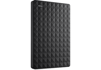 SEAGATE Festplatte Expansion Portable inkl. +Rescue Data Recovery Services 2TB, schwarz, USB (STEA2000200)