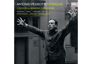 The Czech Philharmonic Orchestra - Antonio Pedrotti In Prag - (CD)