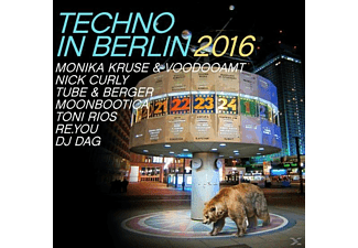 VARIOUS - Techno In Berlin 2016 - (CD)