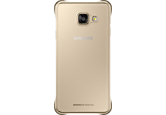 SAMSUNG Clear Cover Galaxy A3 (2016) Gold (EF-QA310CFEGWW)