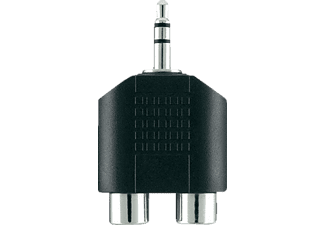 BELKIN Adapter Audio 3.5mm/2XRCA M/F Portable Black - (F3Y120BF)