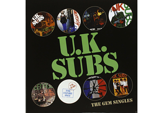 "Uk Subs - The Gem Singles Box (8 X Picture 7"") - (Vinyl)"