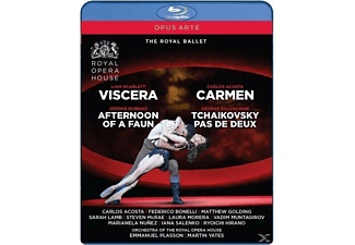 VARIOUS, Orchestra Of The Royal Opera House - Viscera, Carmen, Afternoon Of A Faun & Tchaikovsky Pas De Deux - (Blu-ray)