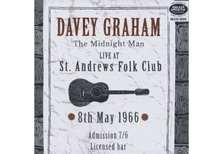 Davey Graham - Live At St.Andrews 1966 - (CD)