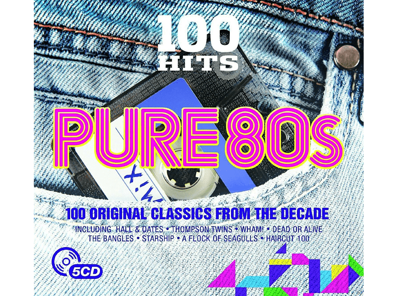 VARIOUS - Pure 80s - 100 Original Classics From The Decade [CD]