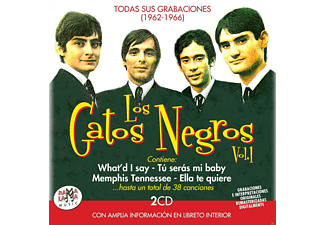Los Gatos Negros - Todas Sus Grabaciones (1962-1966),Vol.1 - (CD)