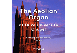 Christopher Jacobson, Amalgam Brass Ensemble - The Aeolian Organ At Duke University Chapel - (SACD Hybrid)
