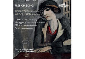 Simon Wallfisch, Edward Rushton - French Songs - (CD)