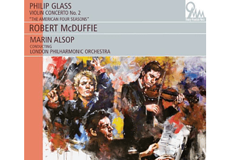 "Robert McDuffie, The London Philharmonic Orchestra - ""Violinkonzert 2 """"The American Four Seasons"""""" - (CD)"