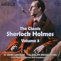 Gielgud, Sir John / Richardson, Sir Ralph - The Classic Sherlock Holmes Vol.2 (engl.) - (CD)