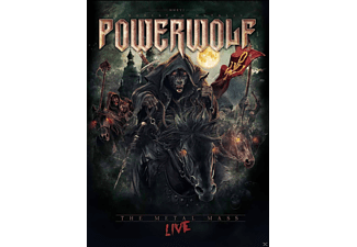 Powerwolf - The Metal Mass - Live (Mediabook 2 Bluray + CD) [Blu-ray + CD]