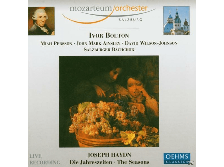 Ivor/Persson/Ainsey/Mozarteum Orch./+ Bolton, Ivor/persson/ainsey/mozarteum Orchester/+ Bolton - Die Jahreszeiten [CD]