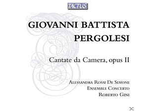 Roberto/ross Ensemble Concerto/gini - Cantate da camera op.2 - (CD)