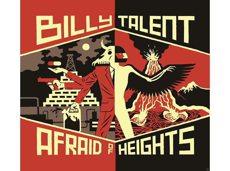Billy Talent - Afraid Of Heights [LP + Download]