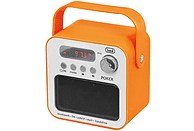 TREVI DR 750 BT POKER tragbares Bluetooth-Radio FM Tuner, Orange