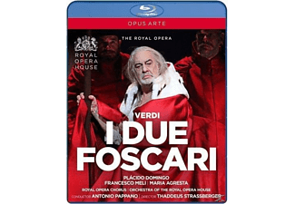 The Royal Opera House, Plácido Domingo, Antonio Pappano - I Due Foscari - (Blu-ray)