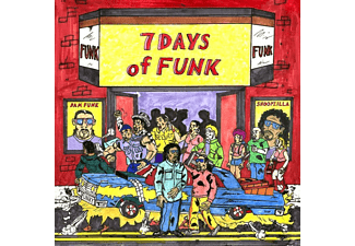 Snoopzilla, Dam Funk - 7 Days Of Funk - (Vinyl)