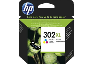 HP HP 302 XL Tri-color Original Ink Cartridge - (F6U67AE)