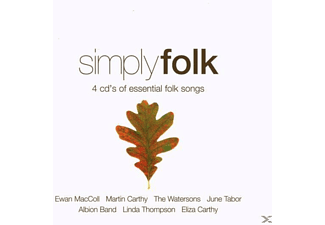 Div Folklore, VARIOUS - Simply Folk - (CD)