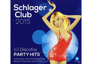 VARIOUS - Schlager Club 2015-63 Discofox Party Hits(Best Of - (CD)