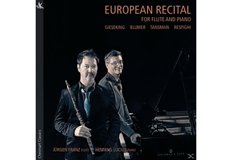 Franz,J./Lucius,H. - European Recital for Flute and Piano - (CD)
