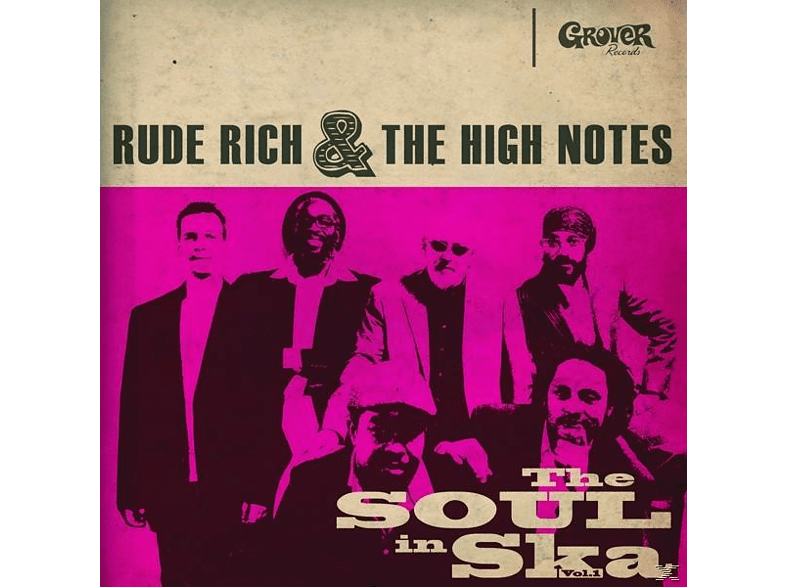 Rude Rich & The High Notes - The Soul In Ska Vol.1 [CD]