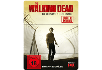 The Walking Dead - Staffel 4 (Limited Steelbook) - (Blu-ray)