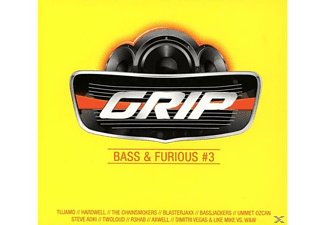 VARIOUS - Grip Bass & Furious, Vol.3 - (CD)