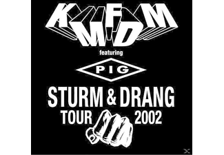 KMFDM Feat.Pig - Sturm & Drang Tour 2002 - (CD)