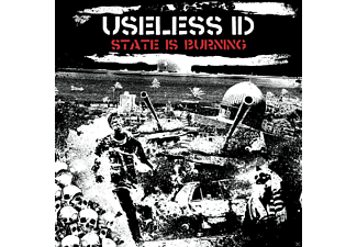 Useless Id - The State Is Burning - (CD)