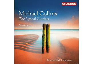 Michael Collins - The Lyrical Clarinet Vol.2 - (CD)