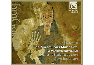 David Robertson, Orchestre National De Lyon - The Miraculous Mandarin - (CD)