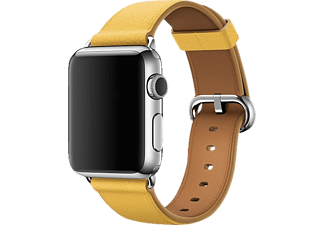 APPLE MMH72ZM/A Classic Buckle, Ersatzarmband, Apple, Watch (38 mm Gehäuse), Marigold