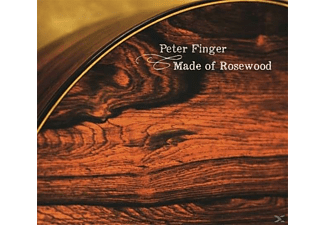 Peter Finger - Made Of Rosewood - (CD)