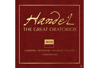 VARIOUS - Handel: The Great Oratorios (Limited Edition) - (CD)