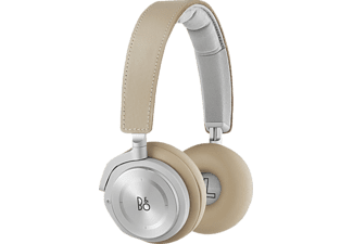 B&O PLAY BEOPLAY H8, On-ear Kopfhörer, Bluetooth, Natur