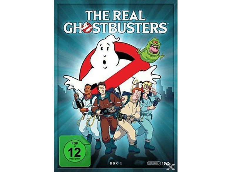 The real Ghostbusters - Box 1 [DVD]