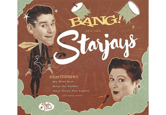 The Starjays - Bang! It's The Starjays - (CD)