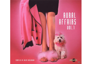VARIOUS - Aural Affairs Vol.1 - (CD)