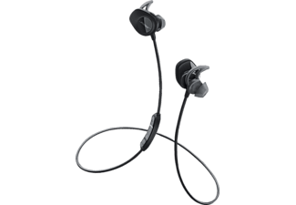 BOSE SoundSport® wireless, In-ear Kopfhörer, Near Field Communication, Bluetooth, spritzwassergeschützt, Schwarz
