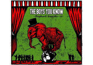 The Boys You Know - Elephant Terrible - (CD)