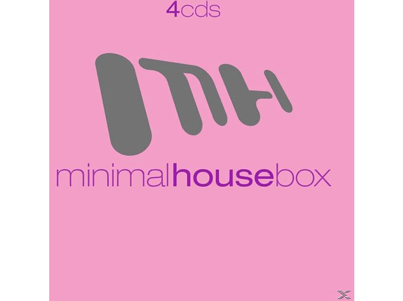 VARIOUS - Minimal House Box [CD]