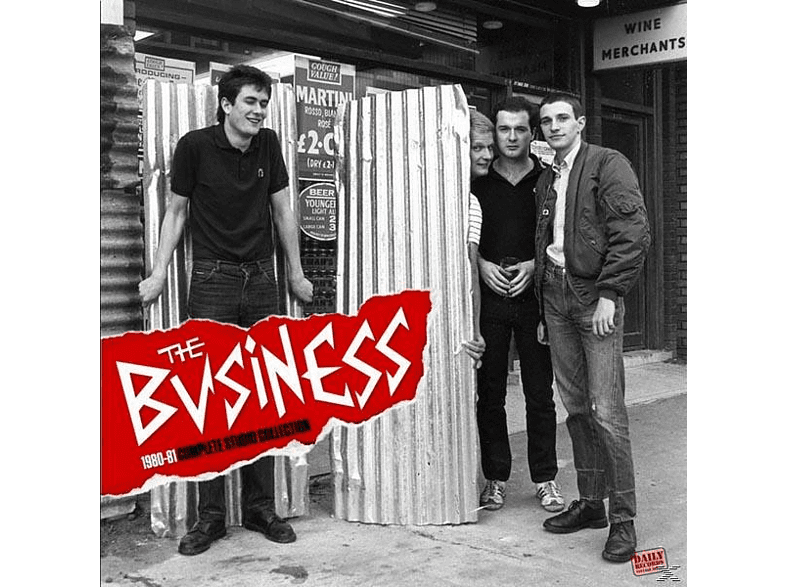 The Business - 1980-81 Complete Studio Collection [Vinyl]