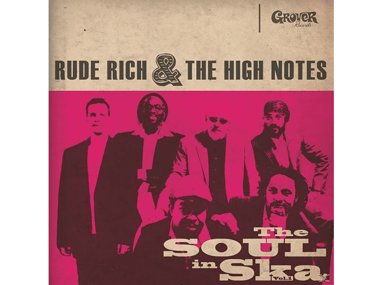 Rude Rich & The High Notes - The Soul In Ska Vol.1 [LP + Bonus-CD]