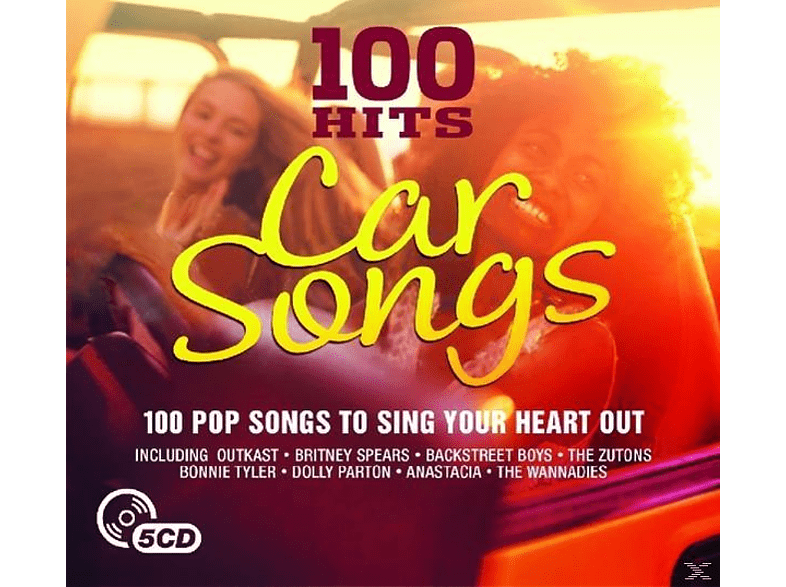 VARIOUS - Car Songs - 100 Pop Songs To Sing Your Heart Out [CD]