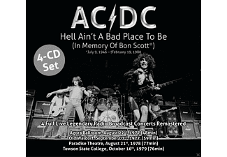 Ac\dc - Hell Ain't A Bad Place To Be  Cd4 - Hell Aint A Bad Place To Be (In Memory Of Bon Scot - (CD)