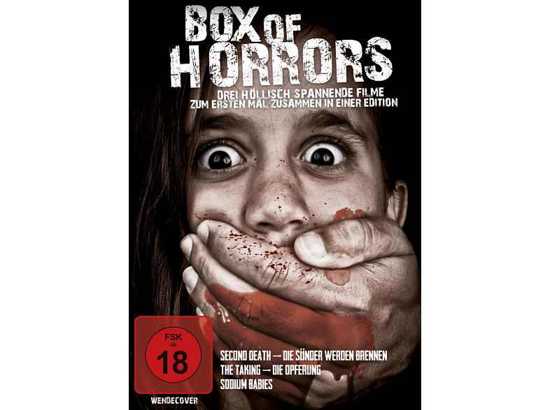 Box of Horrors - Film Collection [DVD]
