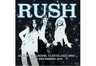 Rush - Agora Ballroom,Cleveland Ohio 16th December 1974 - (CD)