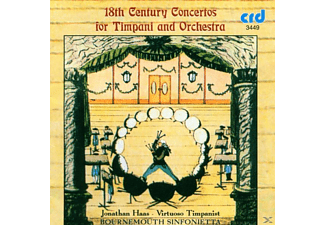 Haas, Farberman, Bournemouth Sinfonietta, Haas/Farberman/Bournemouth Sinfonietta - Concertos For Timpani And Orchestra - (CD)